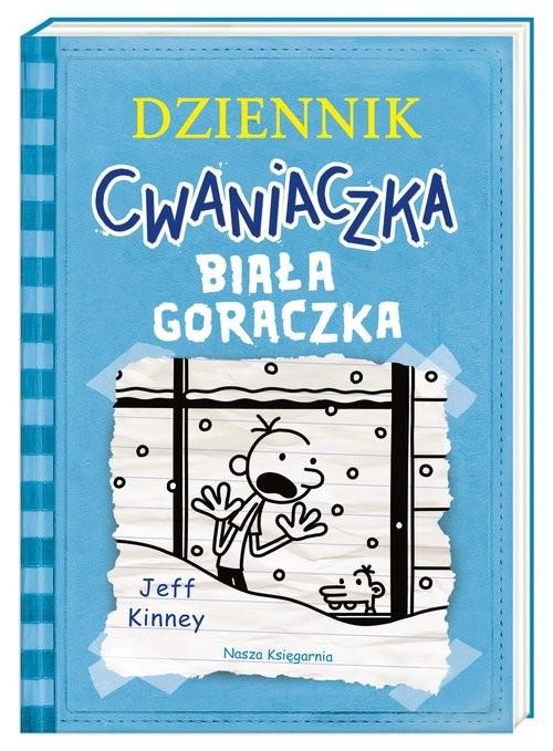 okładka Dziennik cwaniaczka Biała gorączkaksiążka |  | Jeff Kinney
