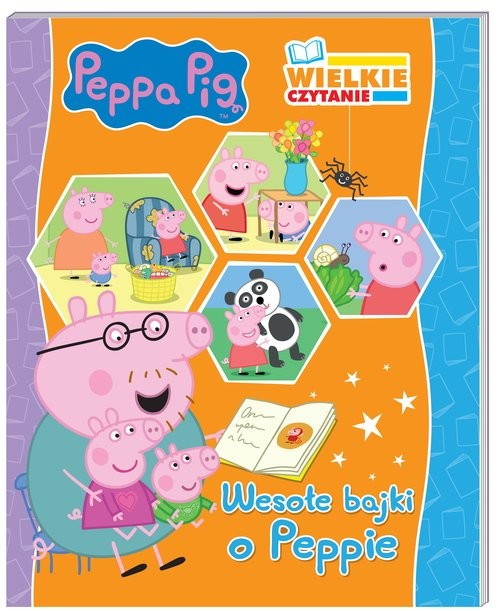 okładka Peppa Pig Wielkie czytanie Wesołe bajki o Peppieksiążka |  |