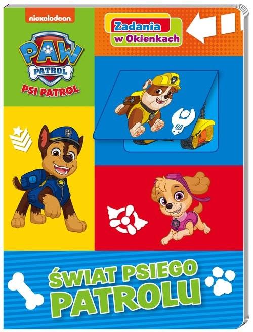 okładka Psi patrol Zadania w okienkach Świat Psiego Patroluksiążka |  | Opracowanie zbiorowe