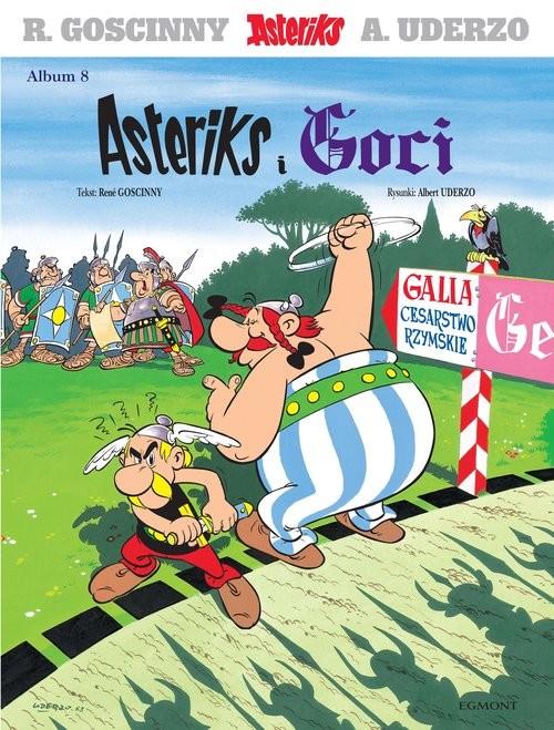 okładka Asteriks Asteriks i Goci Tom 8książka |  | René Goscinny