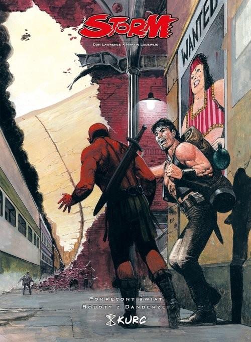 okładka Storm 9 Pokręcony świat Roboty z Dandrezeiksiążka      Don Lawrence, Martin Lodewijk