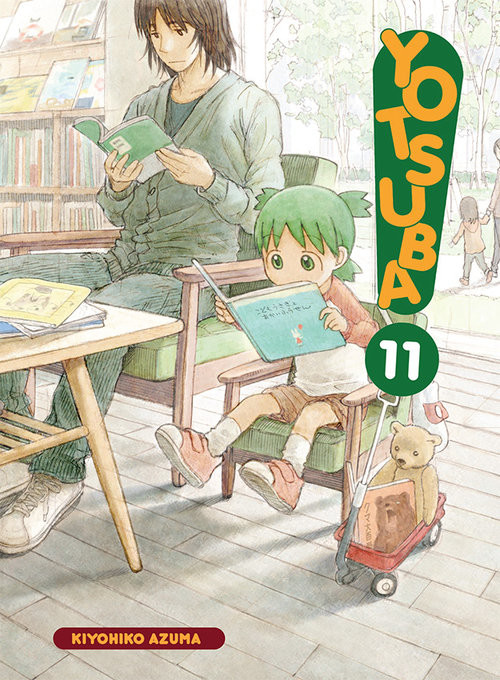 okładka Yotsuba! 11książka |  | Kiyohiko Azuma