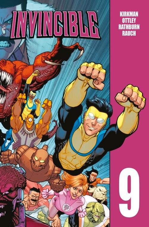 okładka Invincible Tom 9książka |  | Robert Kirkman