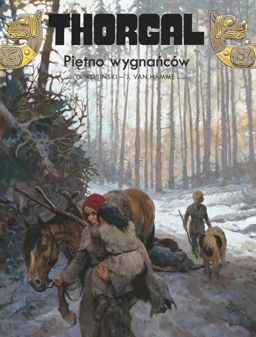 okładka Thorgal Piętno wygnańcówksiążka     