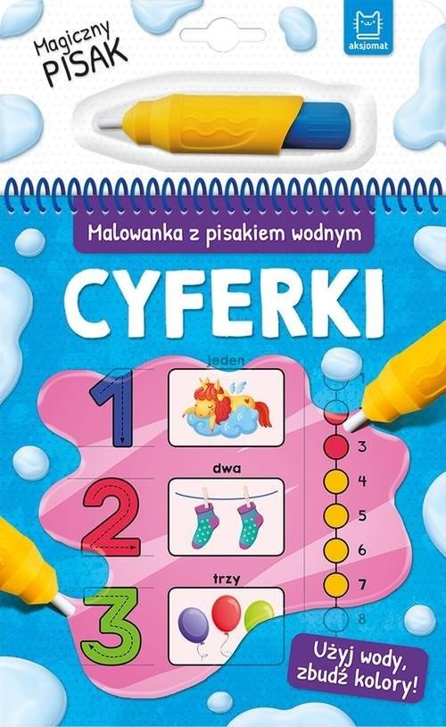 okładka Malowanka z pisakiem wodnym Cyferkiksiążka     