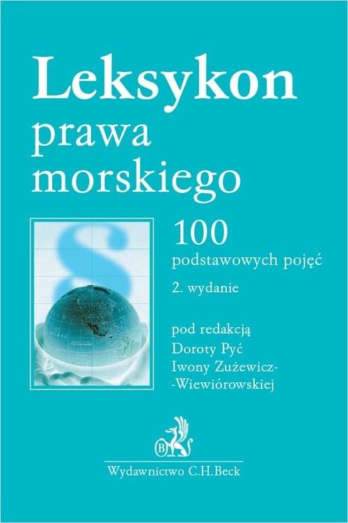 okładka Leksykon prawa morskiego 100 podstawowych pojęćksiążka     