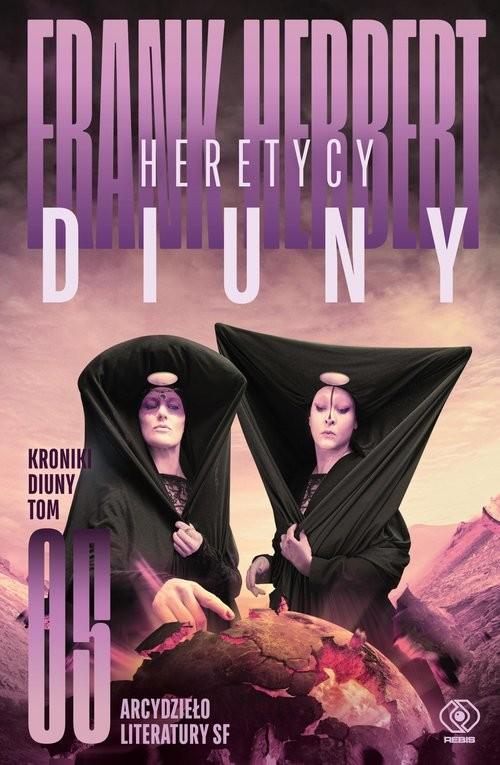okładka Kroniki Diuny Tom 5 Heretycy Diunyksiążka |  | Frank Herbert