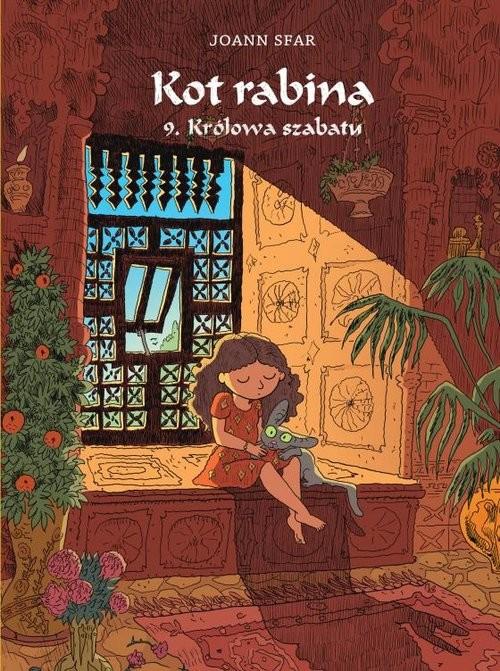 okładka Kot rabina 9 Królowa szabatuksiążka      Sfar Joann