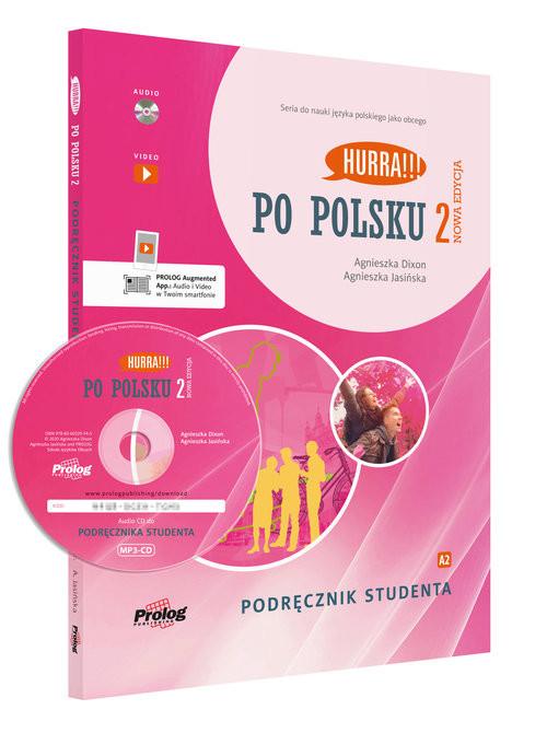 okładka Hurra Po polsku 2 Podręcznik studenta z płytą CDksiążka |  | Agnieszka Dixon, Jasińska Agnieszka