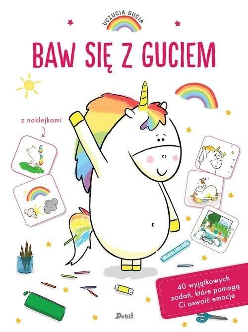 okładka Uczucia Gucia Baw się z Guciemksiążka |  | Aurelie Chien, Chow Chine