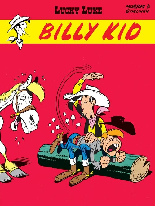 okładka Lucky Luke Billy Kidksiążka |  | René Goscinny, Morris