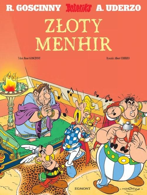 okładka Asteriks Złoty Menhirksiążka |  |