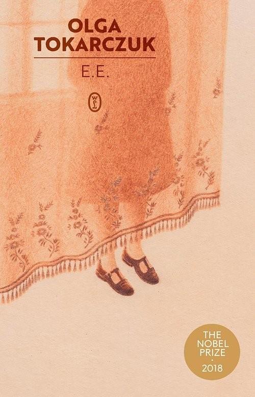 okładka E.E.książka      Olga Tokarczuk