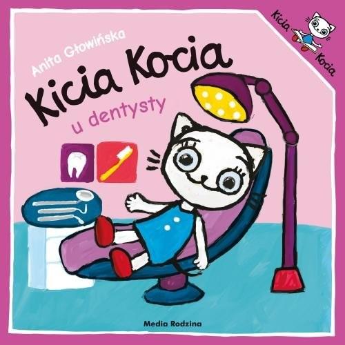 okładka Kicia Kocia idzie do dentystyksiążka      Anita Głowińska