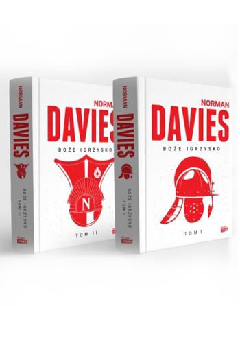 okładka Boże Igrzysko - dwa tomy - pakietksiążka |  | Norman Davies