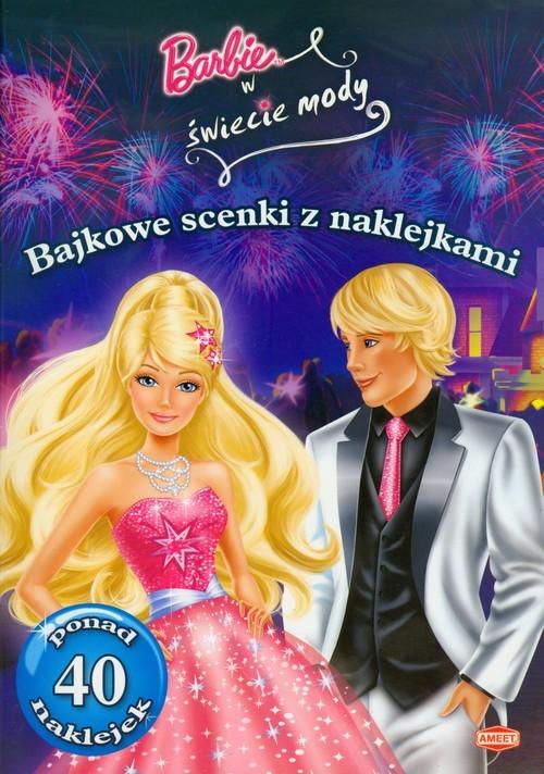 okładka Barbie w świecie mody Bajkowe scenki z naklejkami SC105książka |  |