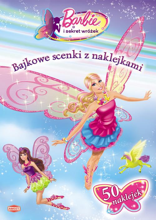 okładka Barbie i sekret wróżek Bajkowe scenki z naklejkami SC107książka |  |