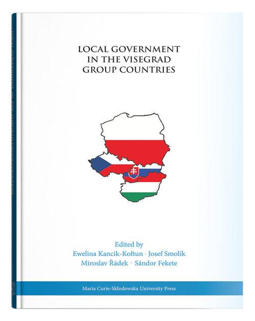 okładka Local Government in the Visegrad Group Countriesksiążka     
