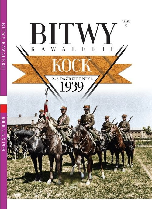 okładka Bitwy Kawalerii nr 5 Kockksiążka |  |