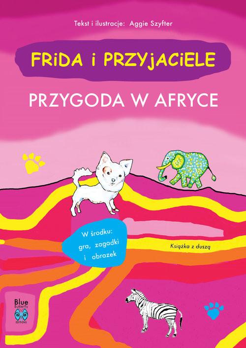 okładka Frida i przyjaciele Przygoda w Afryceksiążka      Szyfter Aggie