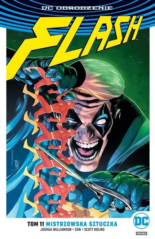 okładka Flash Tom 11 Mistrzowska sztuczkaksiążka |  |