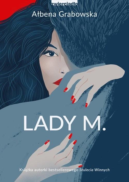 okładka Lady M.książka      Ałbena Grabowska
