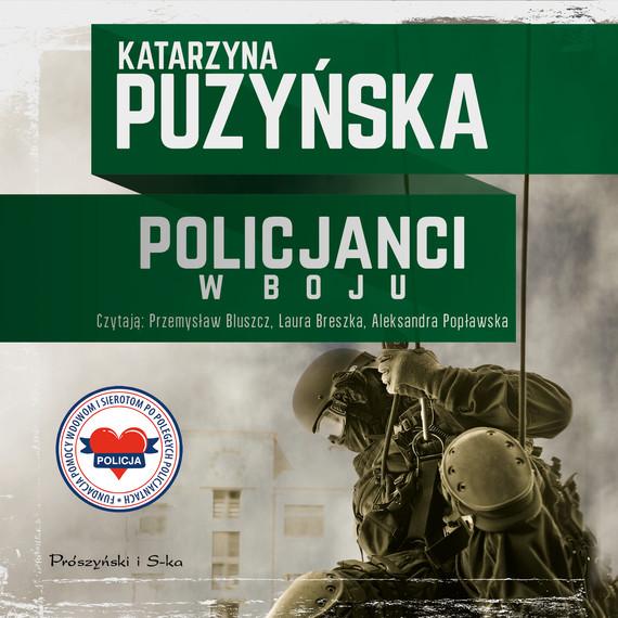 okładka Policjanci. W bojuaudiobook | MP3 | Katarzyna Puzyńska