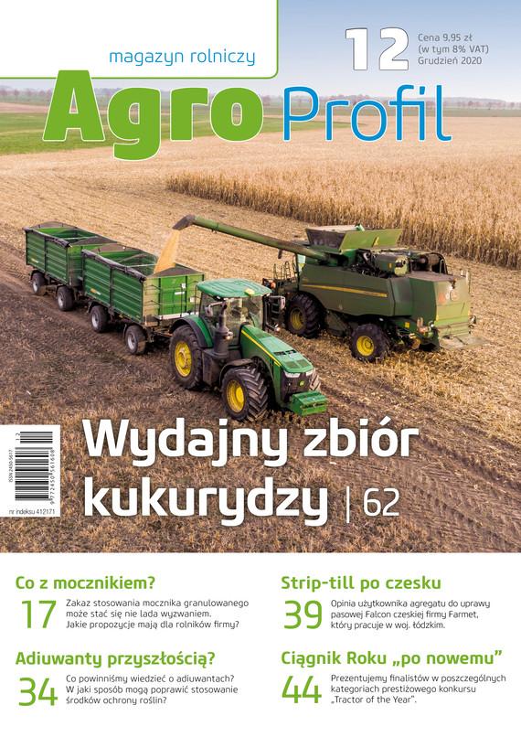 okładka Agro Profil 12/2020ebook   pdf   praca zbiorowa