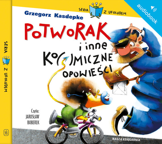 okładka Potworak i inne ko(s)miczne opowieściaudiobook   MP3   Grzegorz Kasdepke