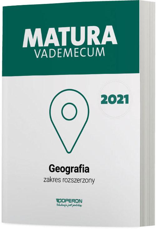 okładka Geografia Matura 2021 Vademecum ZRksiążka      Stasiak Janusz, Zaniewicz Zbigniew