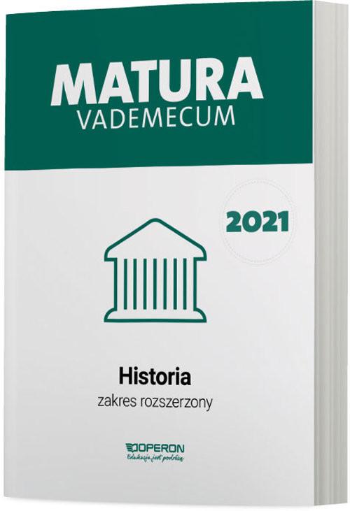 okładka Historia Matura 2021 Vademecum ZRksiążka |  | Antosik Renata, Edyta Pustuła, Cezary Tulin