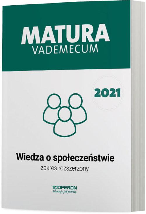 okładka WOS Matura 2021 Vademecum ZRksiążka      Mikołaj Walczyk, Iwona Walendziak