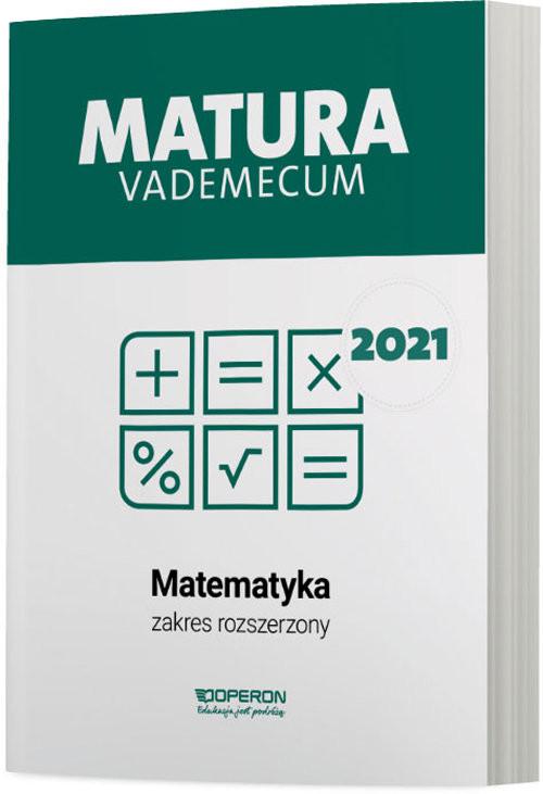okładka Matematyka Matura 2021 Vademecum ZRksiążka |  | Gałązka Kinga