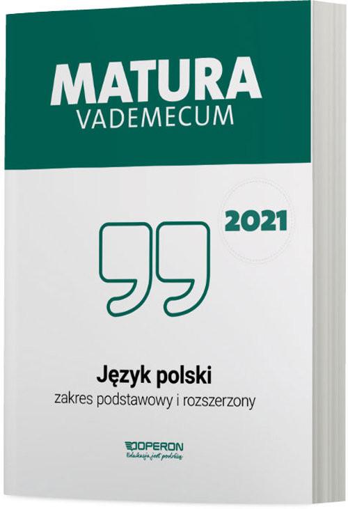 okładka Język polski Matura 2021 Vademecum ZPRksiążka |  | Donata  Dominik-Stawicka