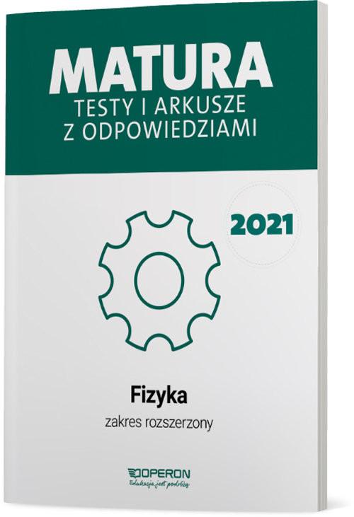 okładka Fizyka Matura 2021 Testy i arkusze ZRksiążka |  | Przysiecka Ewa, Dobosz Anna