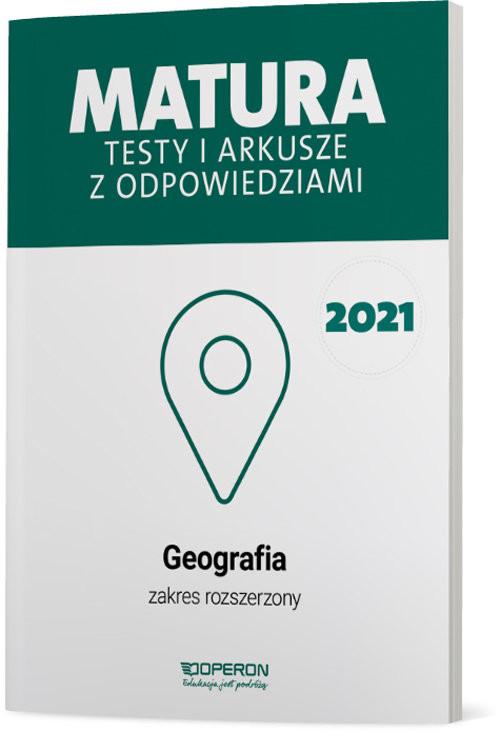 okładka Geografia Matura 2021 Testy i arkusze ZRksiążka |  | Dorota Plandowska, Jolanta Siembida, Zaniewicz Zbigniew