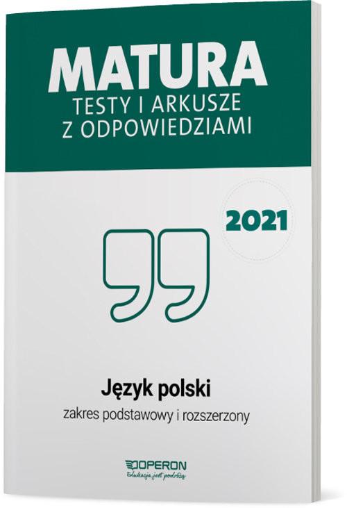 okładka Język polski Matura 2021 Testy i arkusze ZPRksiążka |  | Banowski Tadeusz, Ewa Dunaj, Kalka Violetta, Tomaszek Katarzyna