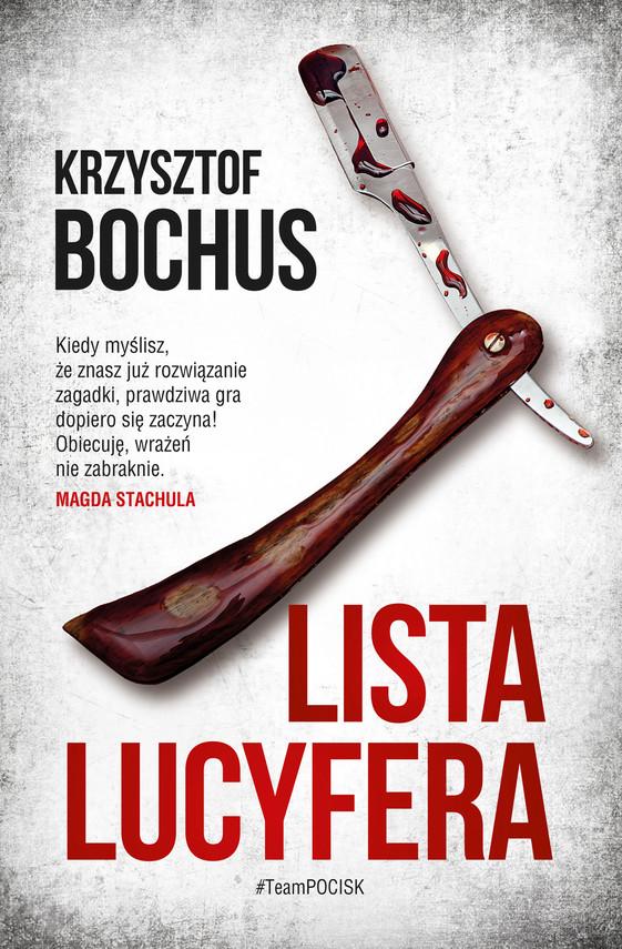 okładka Lista Lucyferaebook | epub, mobi | Krzysztof Bochus