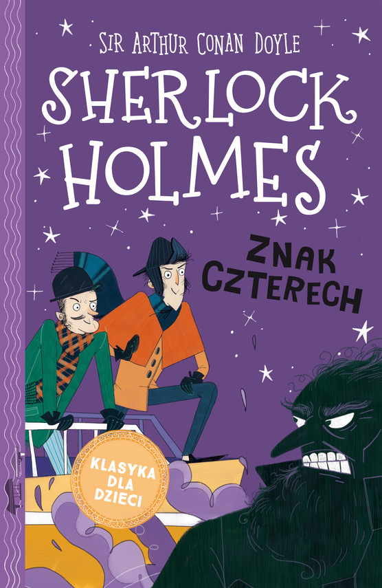 okładka Klasyka dla dzieci. Sherlock Holmes. t.2  Znak czterechebook   epub, mobi   Arthur Conan Doyle