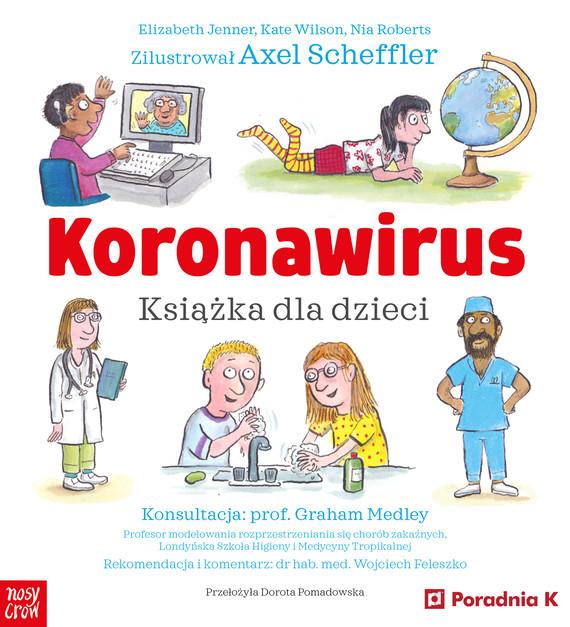 okładka Koronawirus. Książka dla dzieciebook | epub, mobi | Elizabeth Jenner, Kate Wilson, Nia Roberts