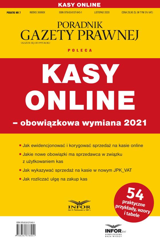 okładka Kasy online – obowiązkowa wymiana 2021ebook | pdf | Praca Zbiorowa