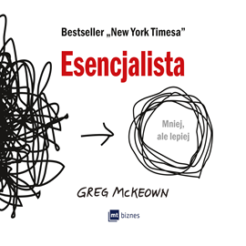 okładka Esencjalistaaudiobook | MP3 | Greg  McKeown