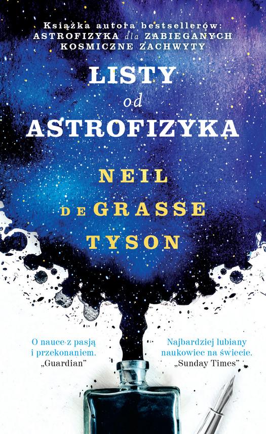 okładka Listy od astrofizykaebook | epub, mobi | Neil deGrasse Tyson