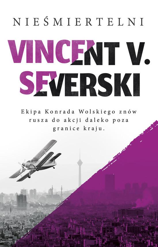 okładka Nieśmiertelniebook   epub, mobi   Vincent V. Severski
