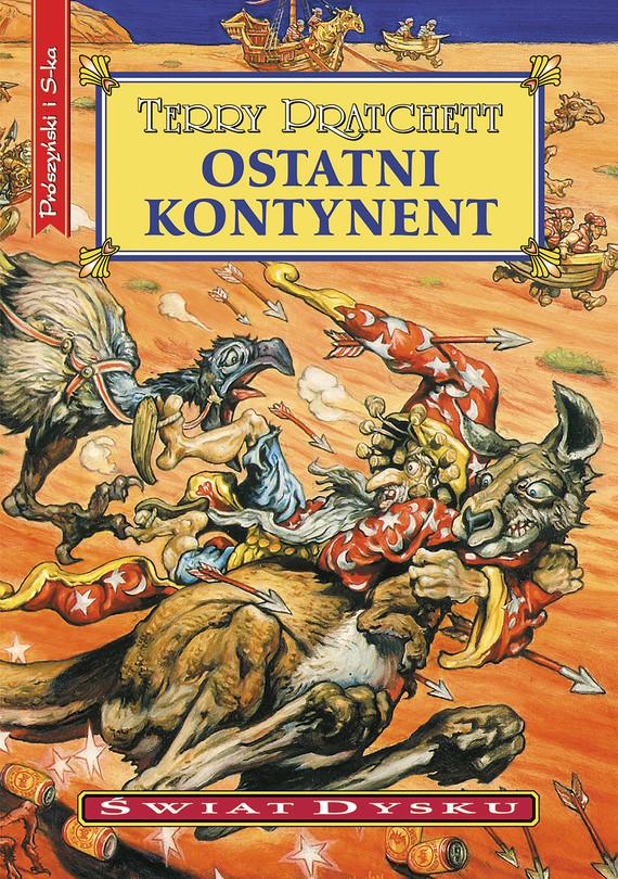 okładka Ostatni kontynentebook | epub, mobi | Terry Pratchett
