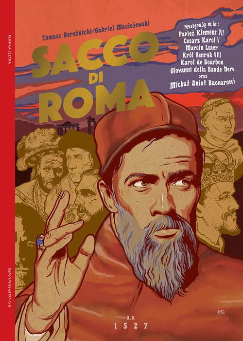 okładka Sacco di Romaksiążka |  | Maciejewski Gabriel, Tomasz Bereźnicki