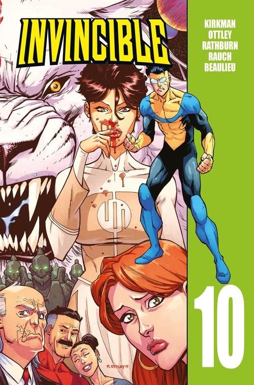 okładka Invincible Tom 10książka     
