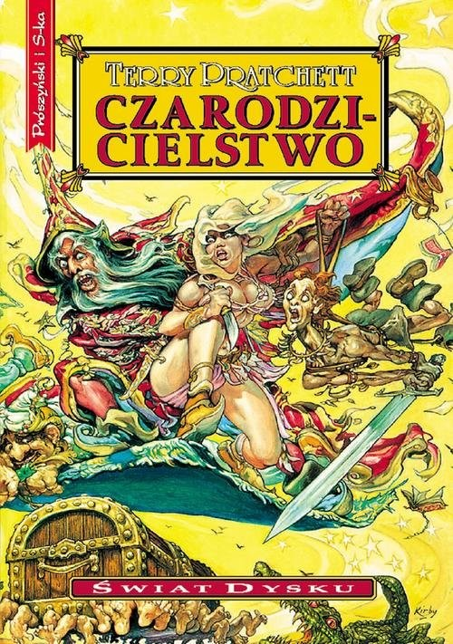 okładka Czarodzicielstwoksiążka      Terry Pratchett