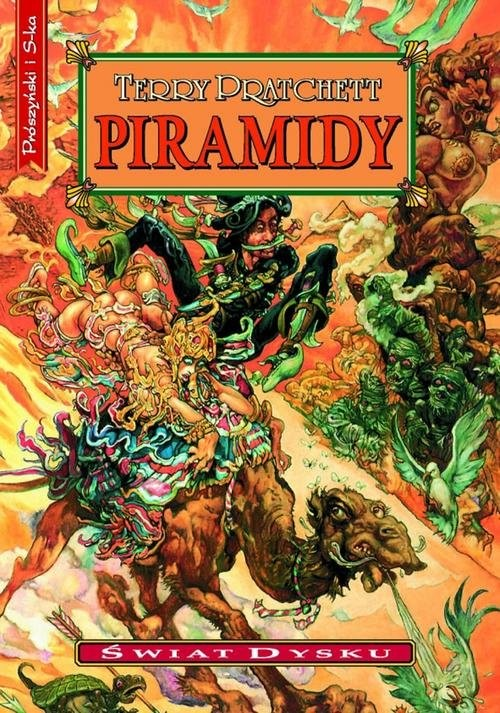 okładka Piramidyksiążka |  | Terry Pratchett