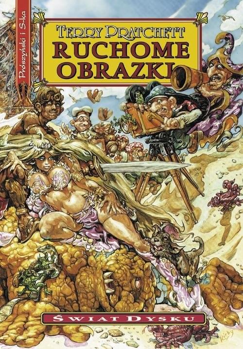 okładka Ruchome obrazkiksiążka      Terry Pratchett